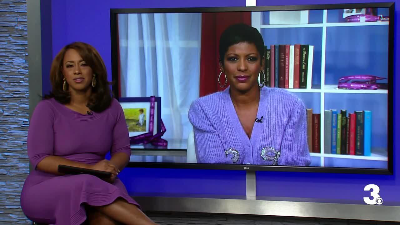 Tamron Hall and Jessica Larche talk about domestic violence