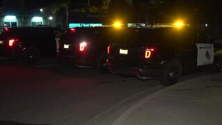 Man taken to hospital after being shot in the back in Vista