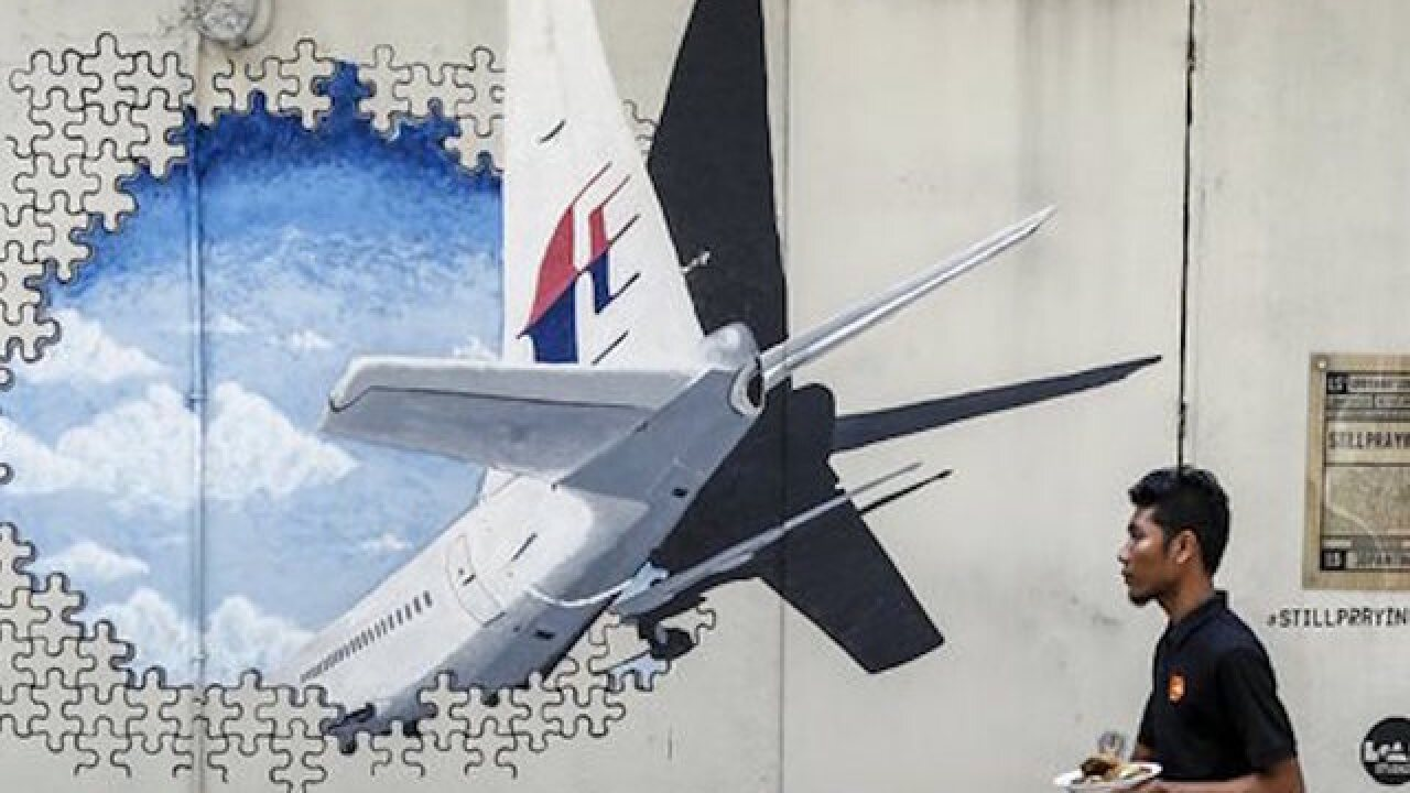 Debris from same type of plane as MH370