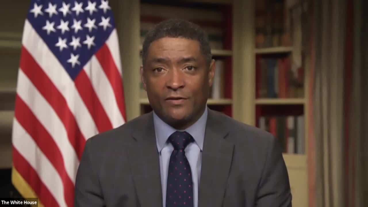 Director of the Office of Public Engagement, Cedric Richmond.