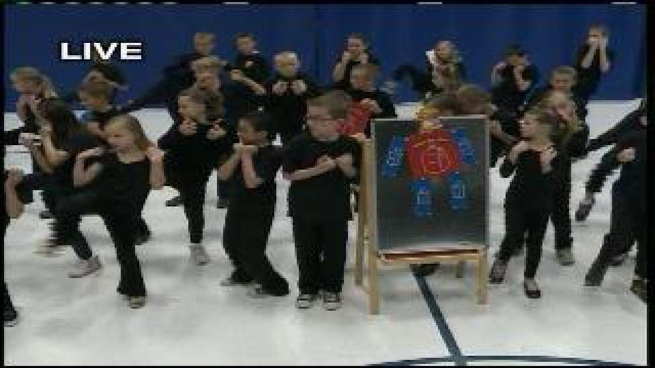 "Students perform ""Math Musical"""