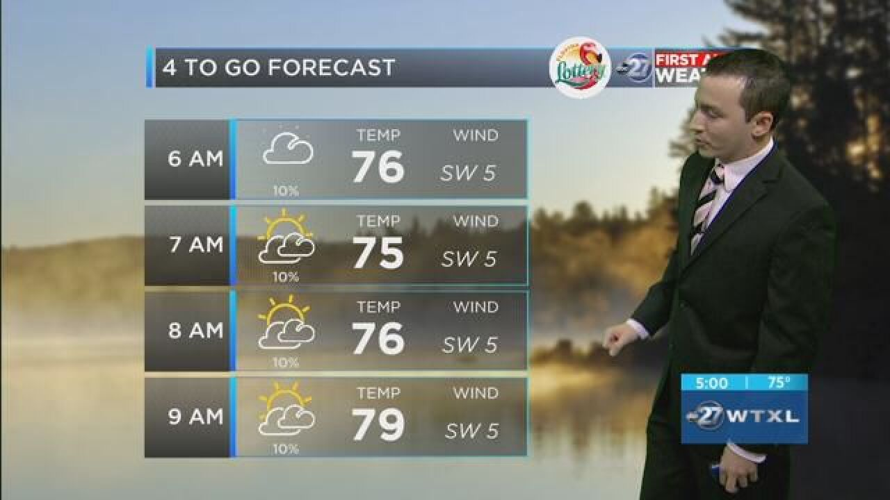 First Alert 4-to-Go Forecast: Aug. 21, 2018