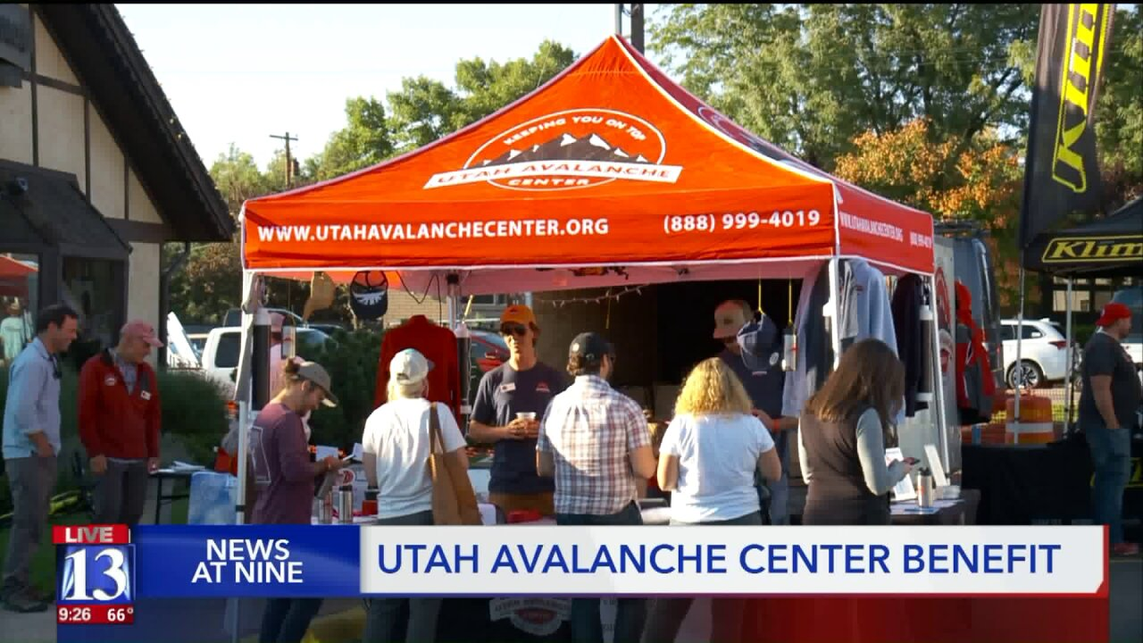 26th annual fundraiser for the Utah AvalancheCenter
