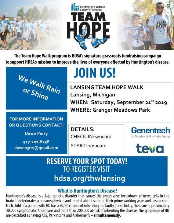 team hope walk