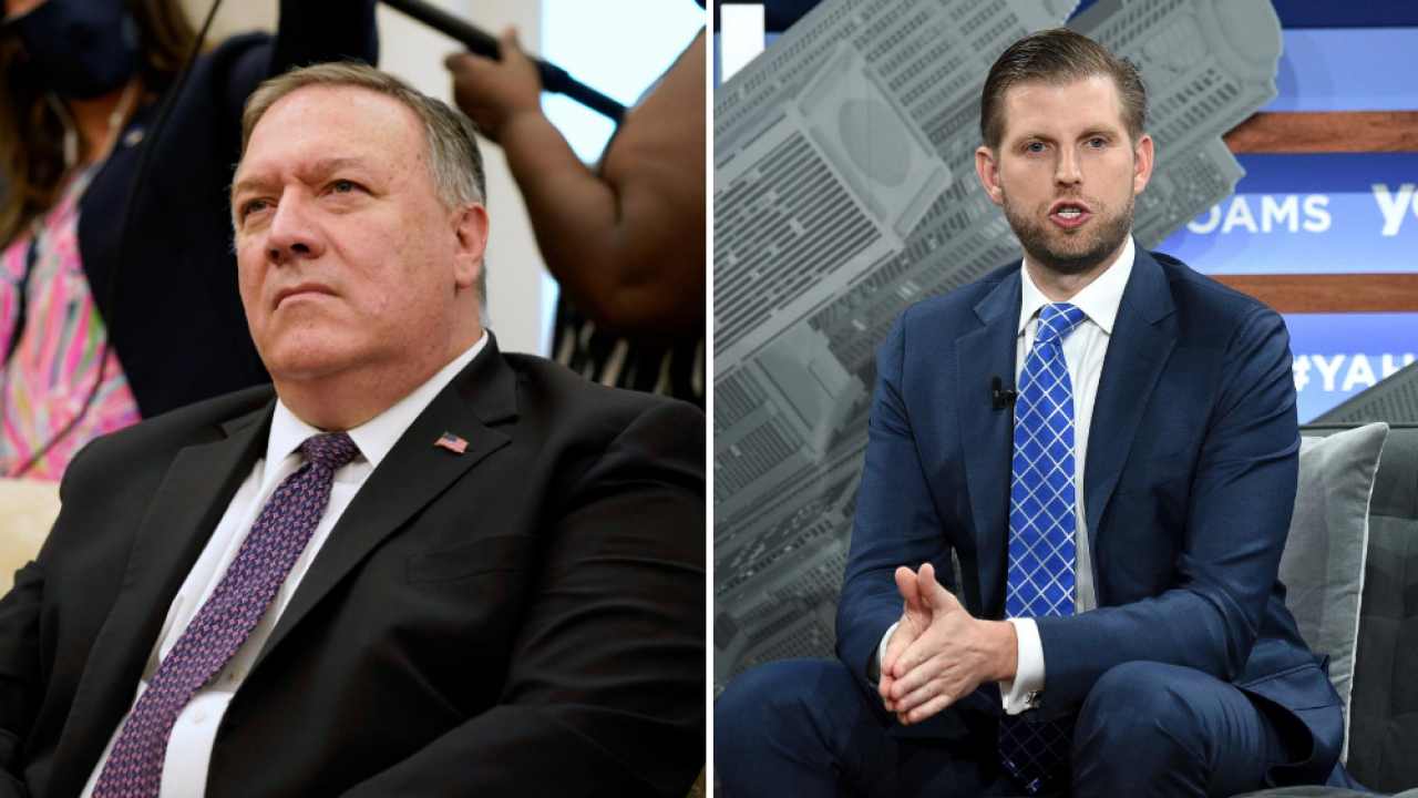Day 2 of the RNC: Pompeo, Eric Trump highlight speeches centered on 'Land of Opportunity'