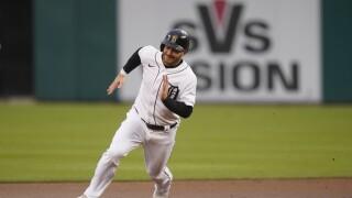 Robbie Grossman Yankees Tigers Baseball
