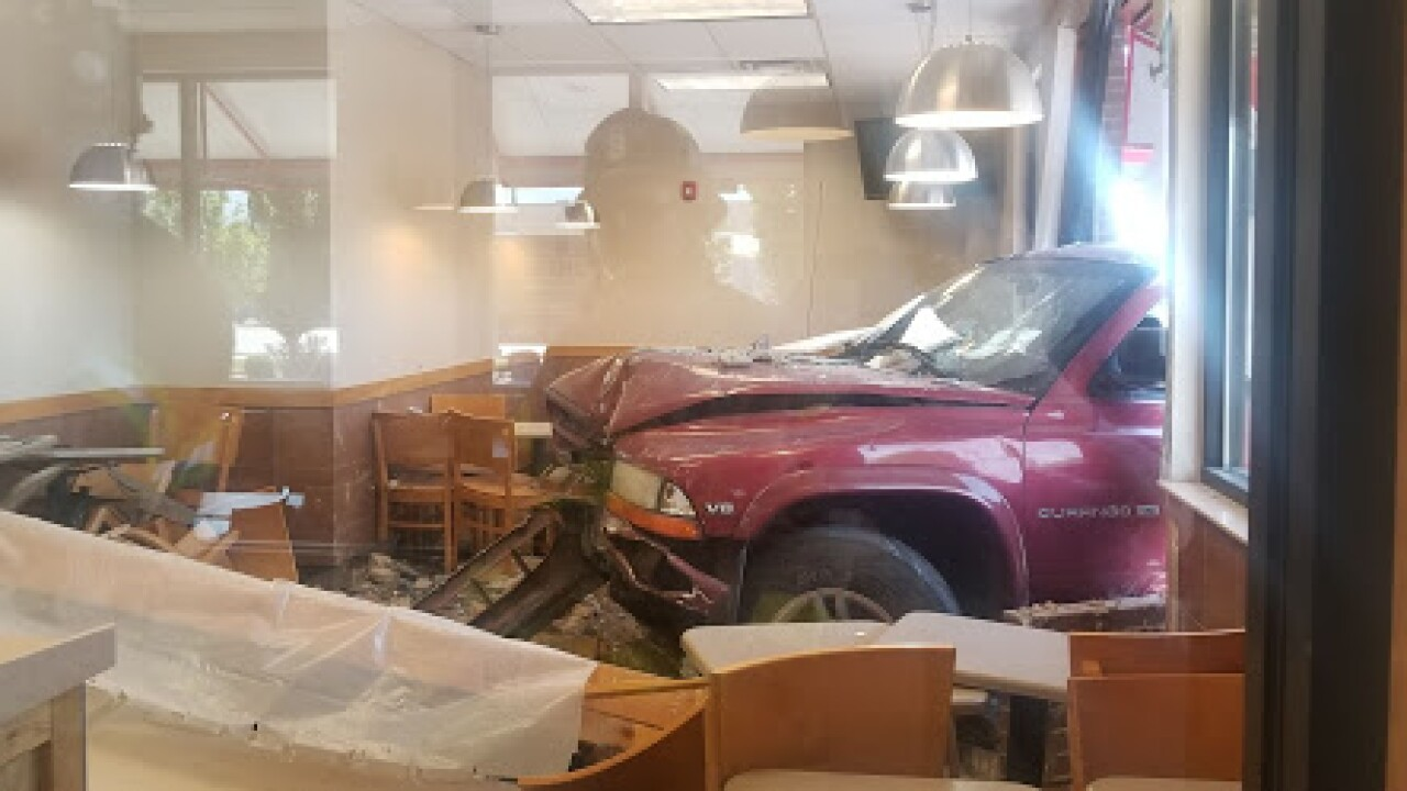 Vehicle crashes into Wendy's in Salt Lake City