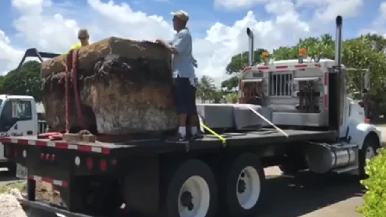Confederate monument removed in West Palm Beach