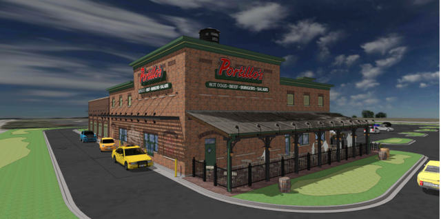 RENDERINGS: Where Portillo's wants to build in Fishers