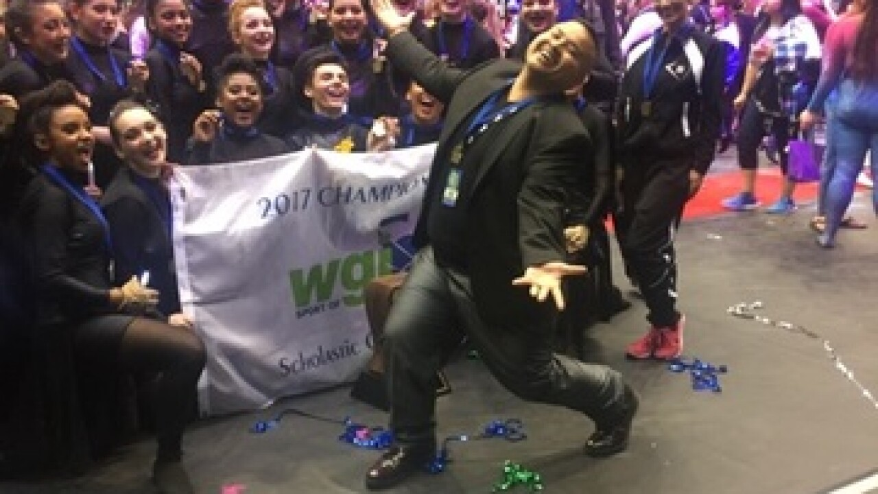 Stockdale High Color Guard wins championship
