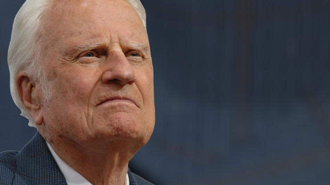 Famed evangelist preacher Billy Graham dead at 99