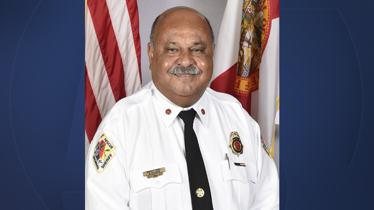 Gregory Holness named first Caribbean-American fire chief in Broward County