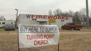 Church managing fireworks store expects busy New Year's Eve