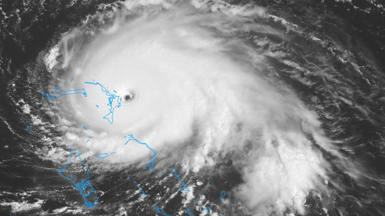 Hurricane Dorian makes landfall; Category 5 storm expected to stall overBahamas