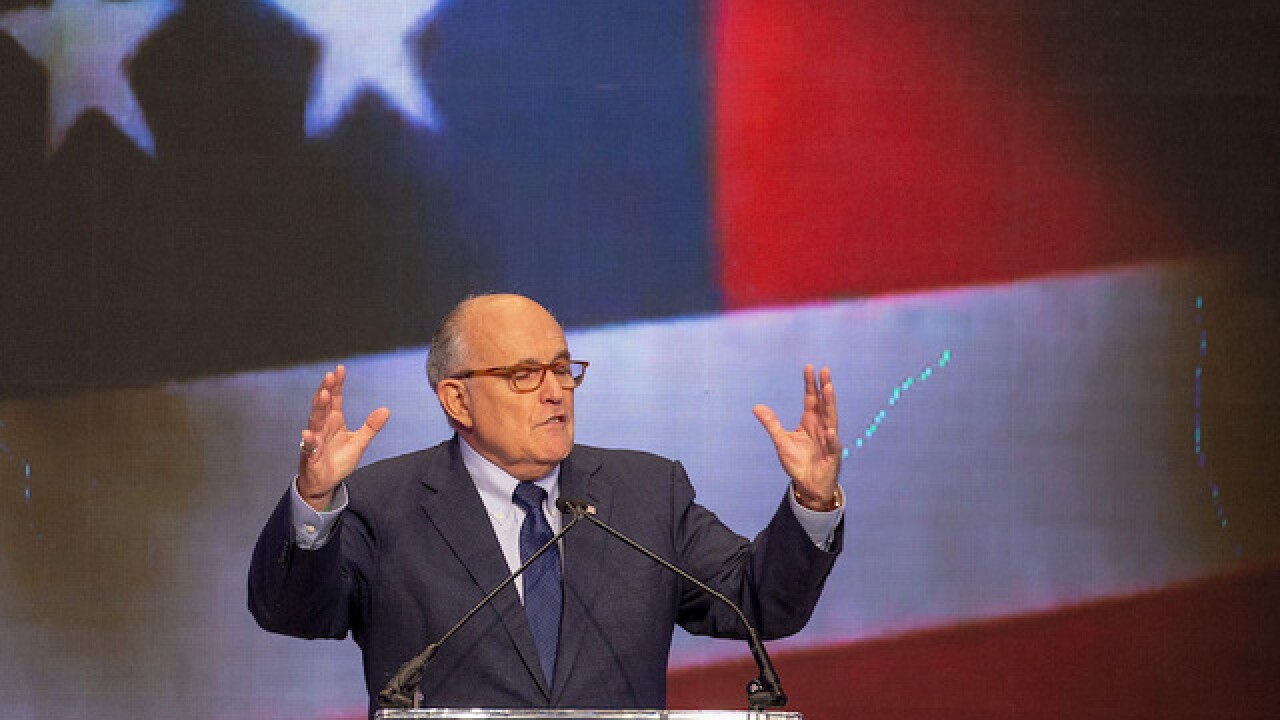 Giuliani to campaign with Mike Braun on Saturday in Indianapolis