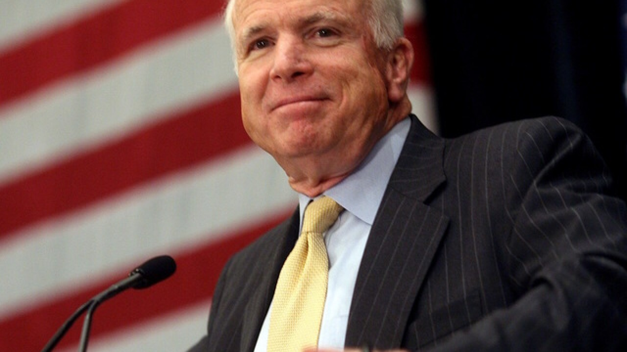 Buckeye district to name new school after John McCain