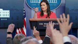 White House press secretary Sarah Sanders resigns