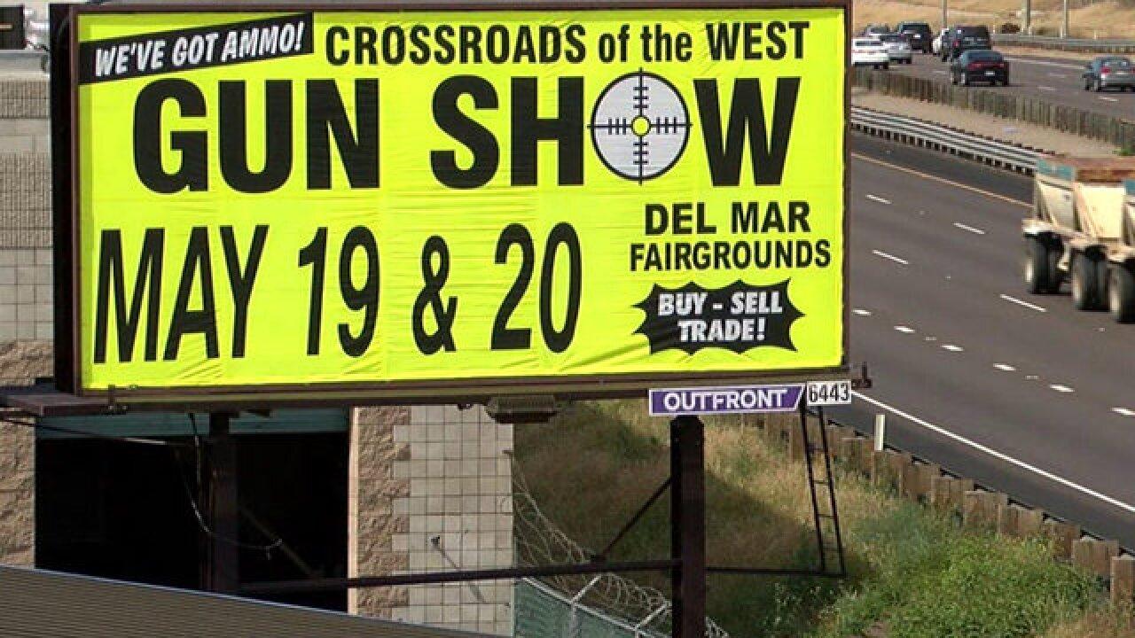 Debate over Del Mar gun show takes center stage