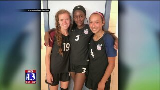American Fork soccer player on the U.S. Nationalteam