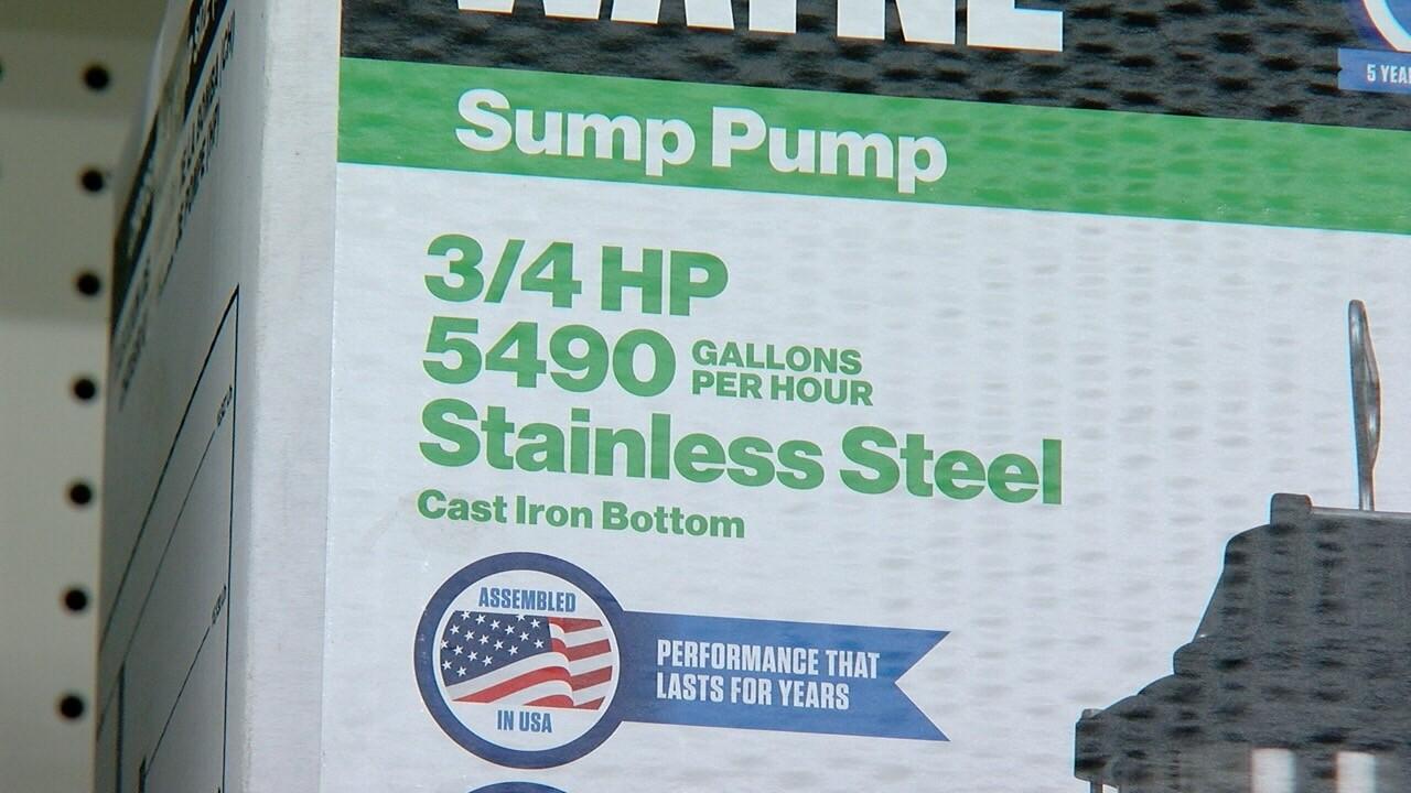 Big sump pump