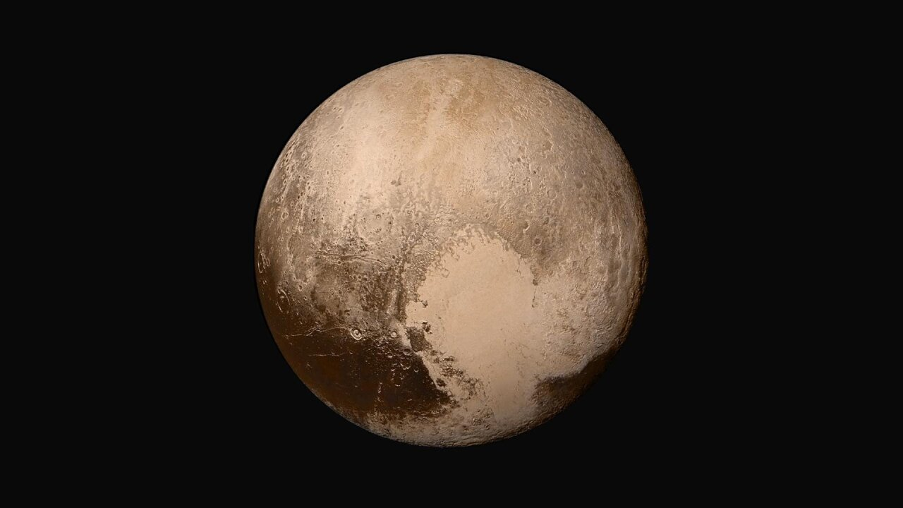 NASA chief says what we're all thinking: Pluto should be a planet again