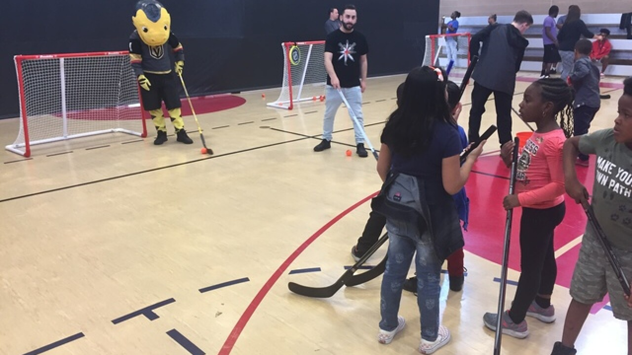 Golden Knights host Street Hockey Tour