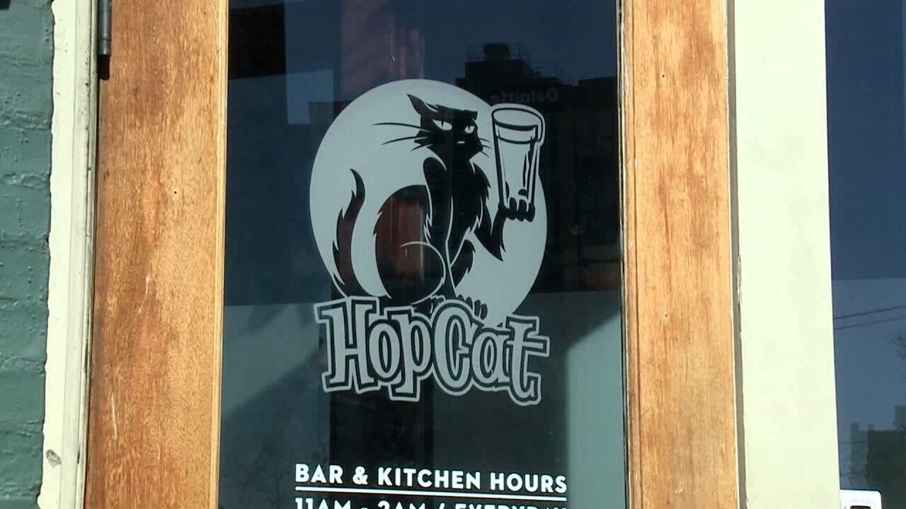 HopCat Door