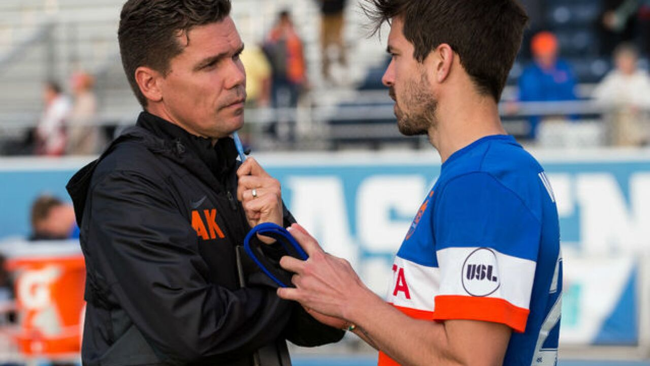 FC Cincy's Koch eager to build his own team