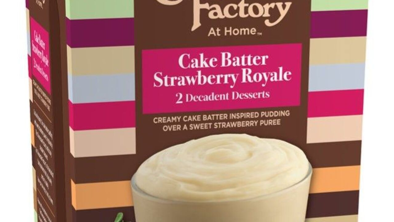 Cheesecake Factory releases new pudding desserts to take home