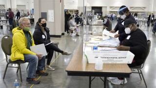 APTOPIX Election 2020 Recount Wisconsin