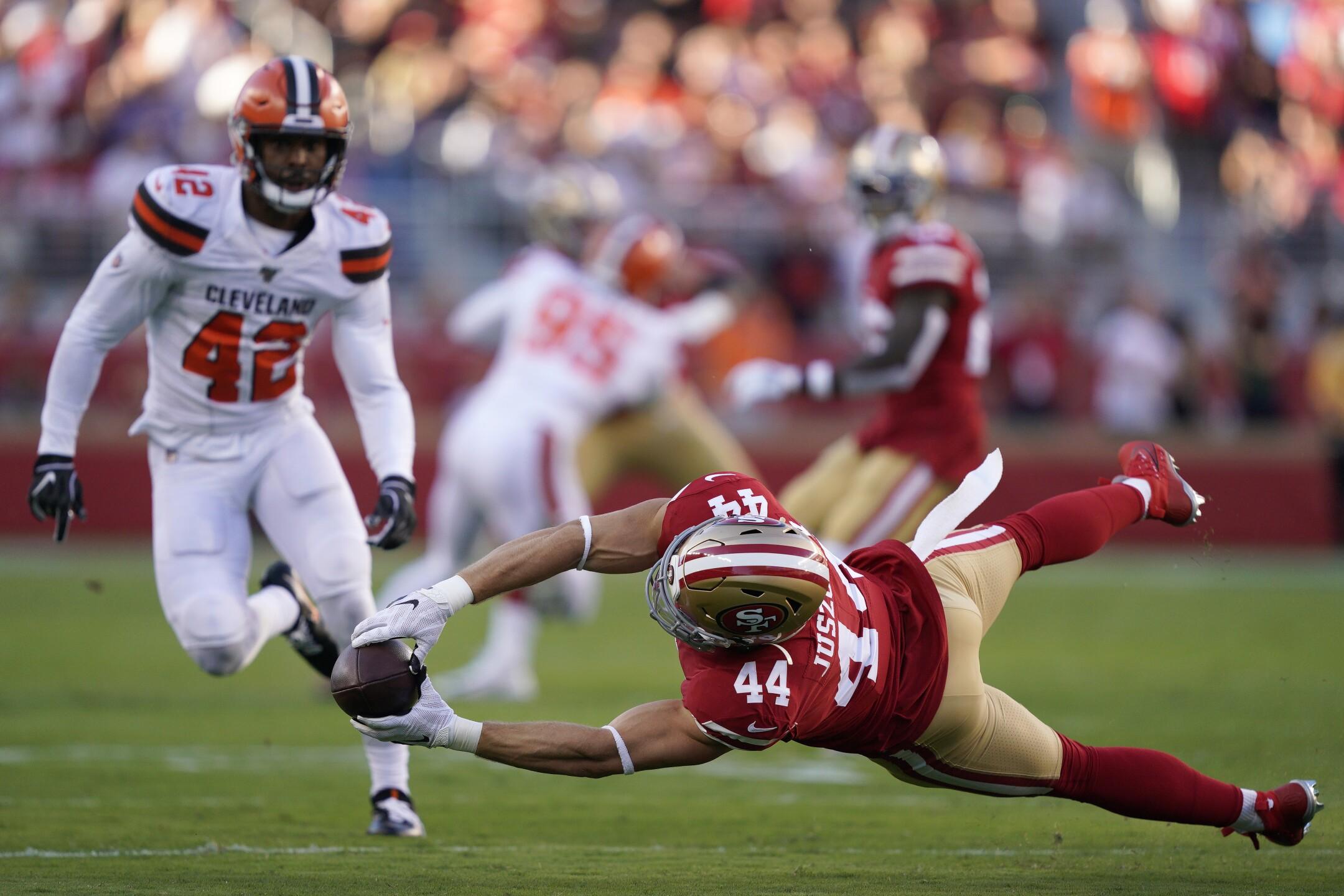 APTOPIX Browns 49ers Football