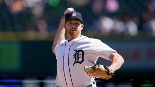 Spencer Turnbull Yankees Tigers Baseball