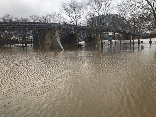 Photos: Rising floodwaters along the Ohio River
