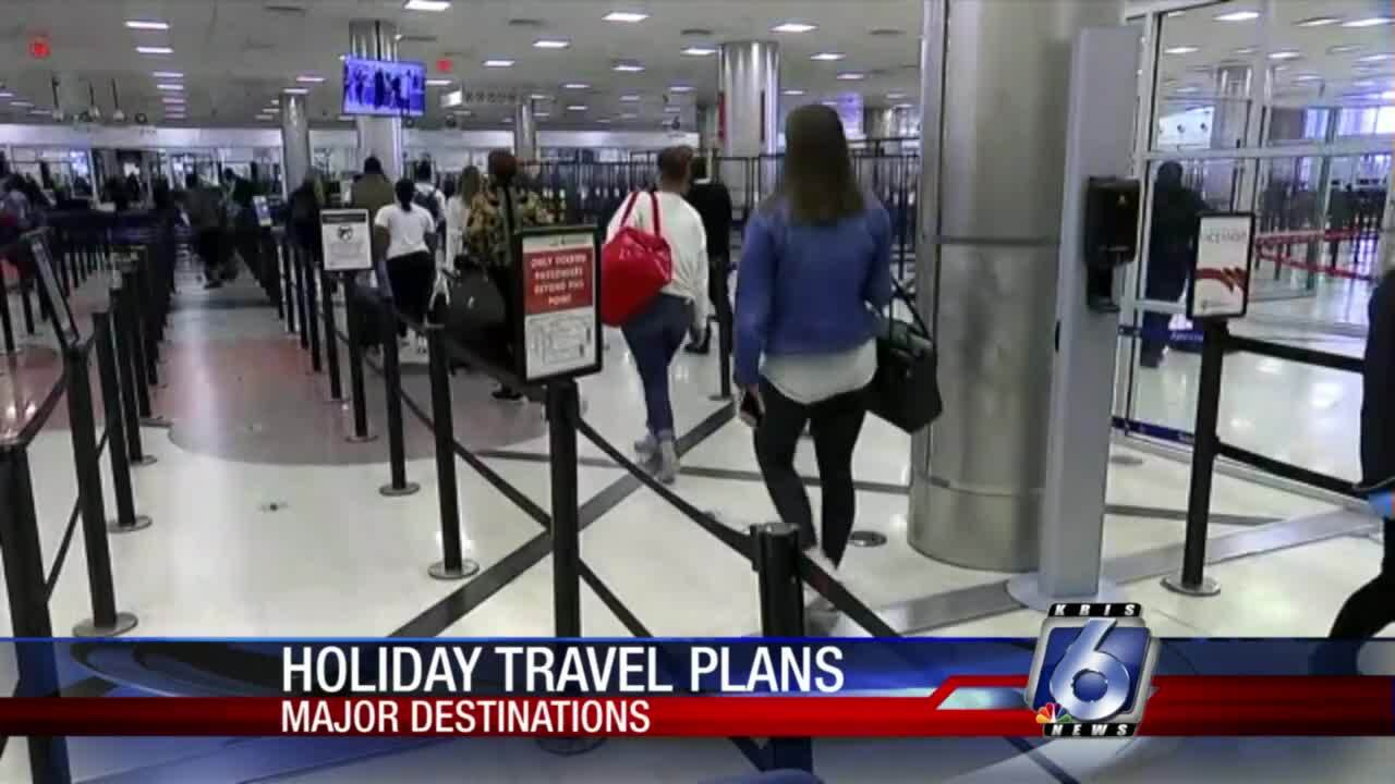 Holiday travel plans firming up