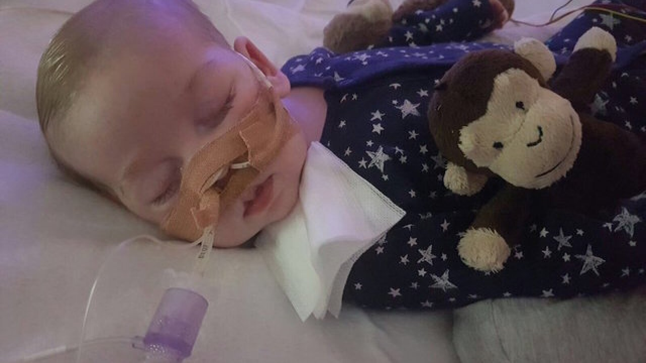 Baby Charlie Gard dies after life support withdrawn