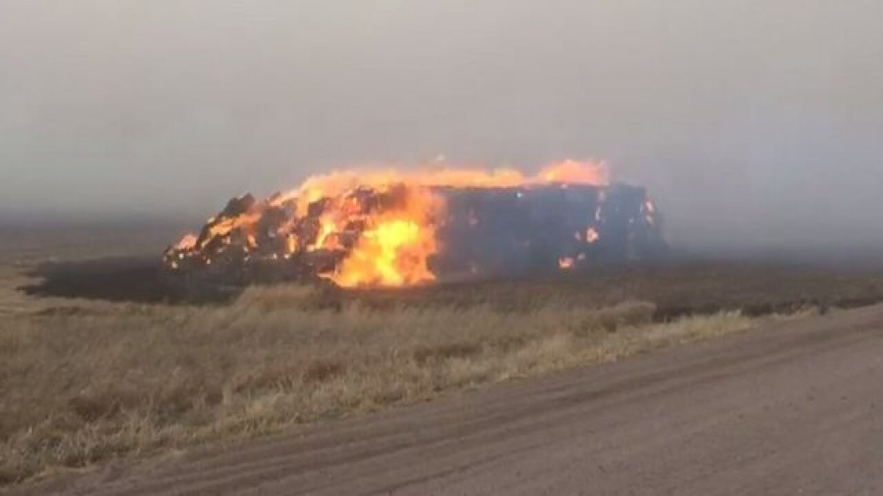 Schools evacuated due to Logan Co. fire