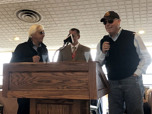 Justify, Pimlico, and Preakness praised at annual Alibi Breakfast