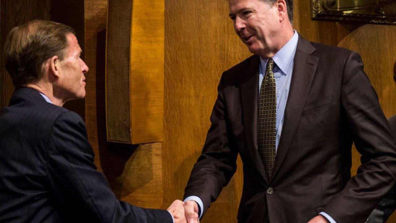 Follow live: Ex-FBI Director Comey testifies