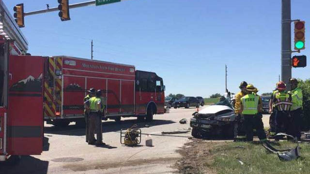 1 dead in crash at Highway 287& Niwot Road