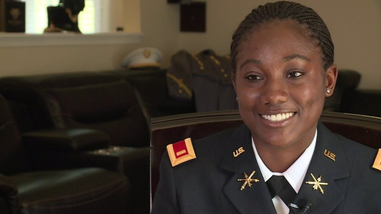 Virginia woman makes history as part of West Point's largest graduating class of black women