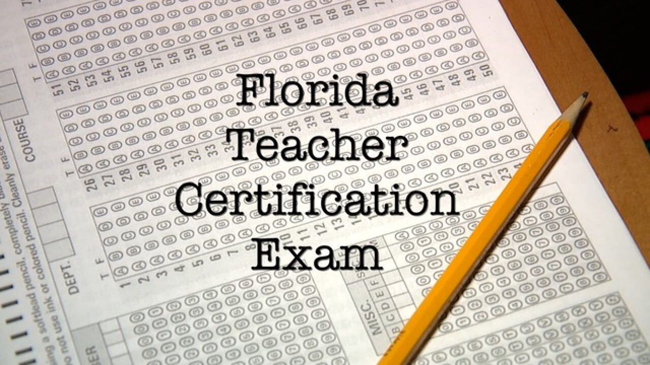 Florida Teachers still failing pricey state test