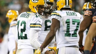 Aaron Rodgers is the highest paid player in the NFL, so now Davante Adams wants his $20 back