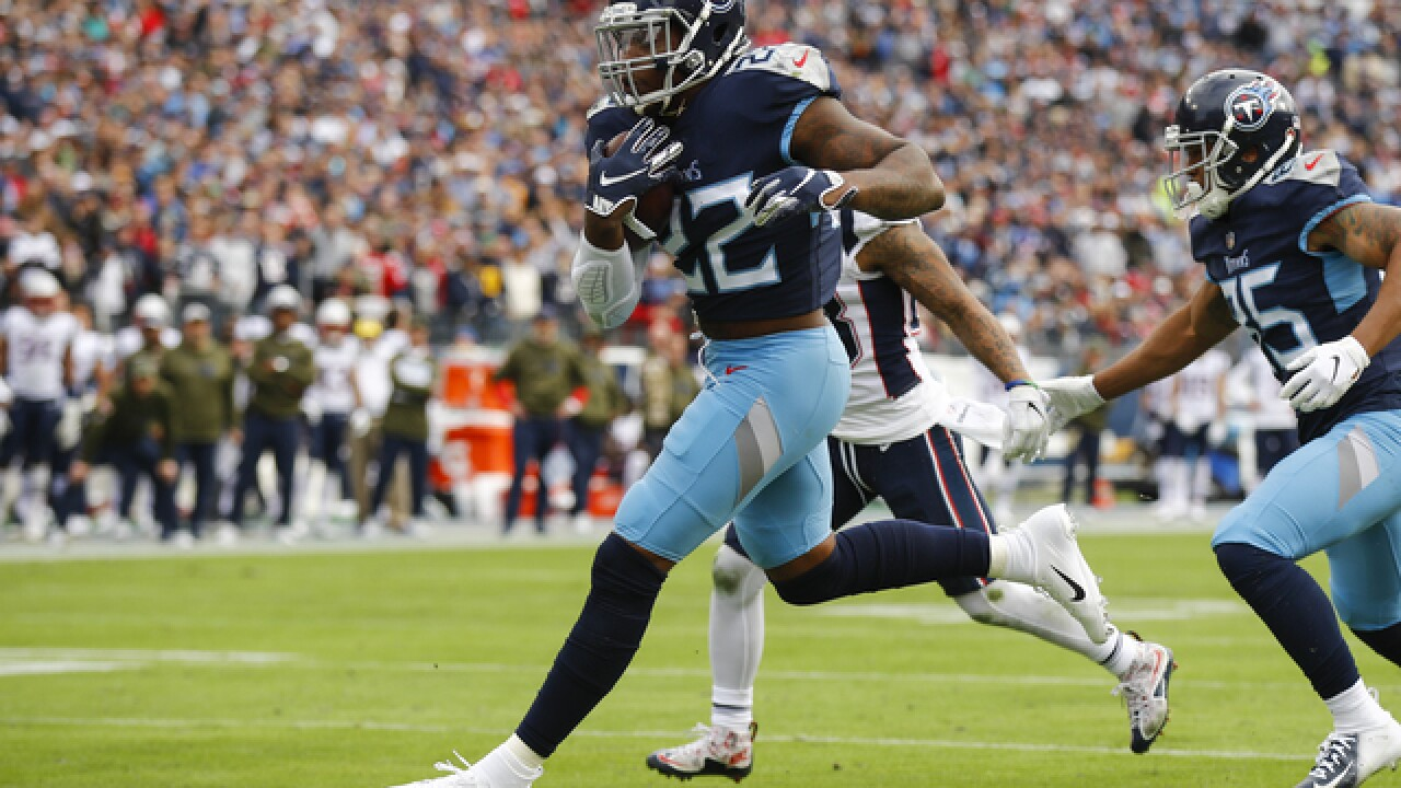 Titans impress in 34-10 win over Patriots