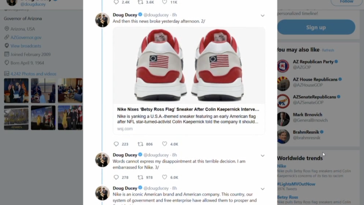 Ducey Nike decision
