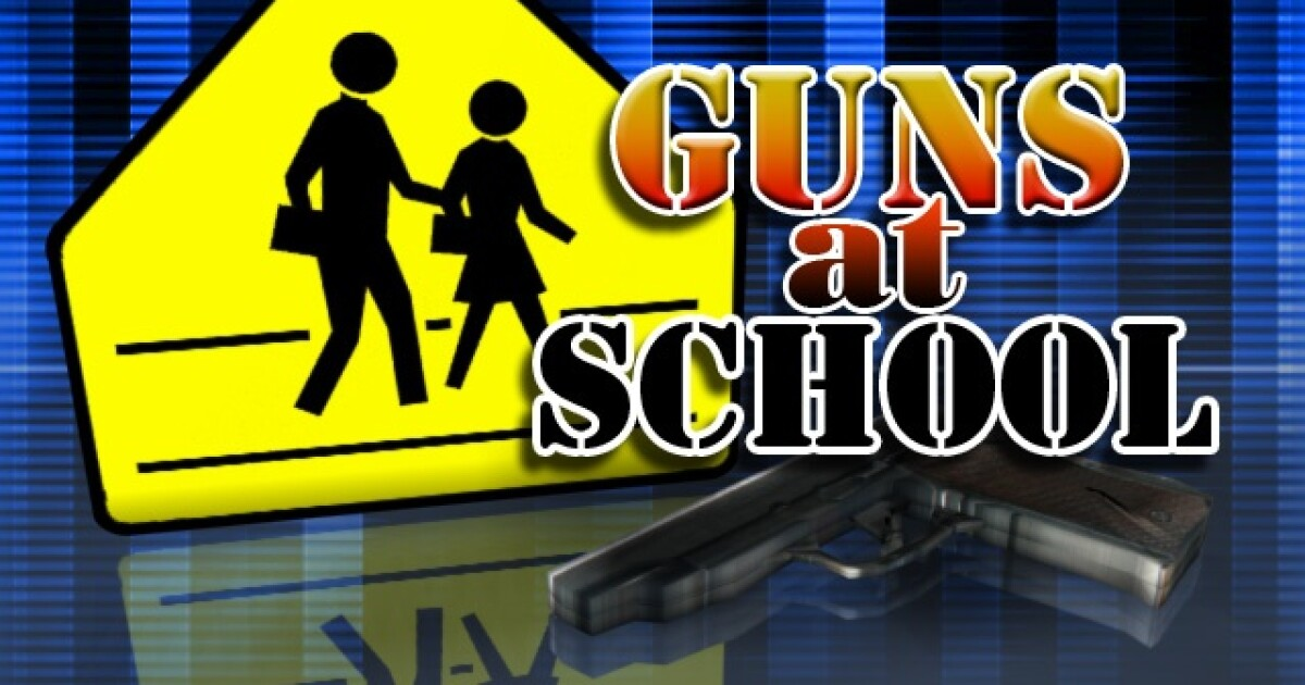 LCS middle school student arrested, charged after gun found in his possession