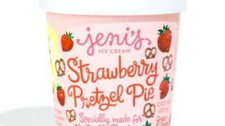 Jeni's Strawberry Pretzel Pie Ice Cream Specially Made for Dolly Parton