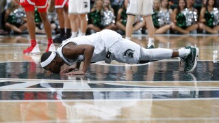 Cassius Winston Ohio St Michigan St Basketball