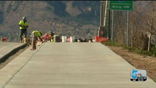 Cimarron Bridge repaving