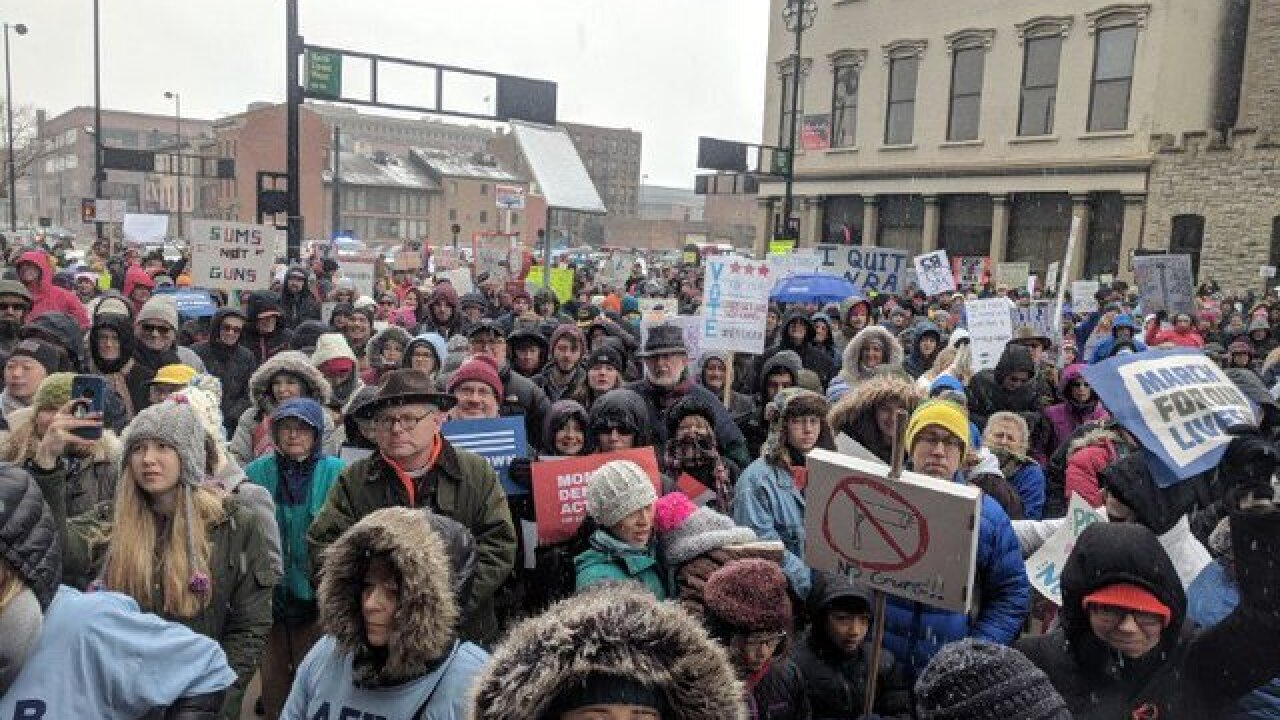 Local students heading to 'March For Our Lives'