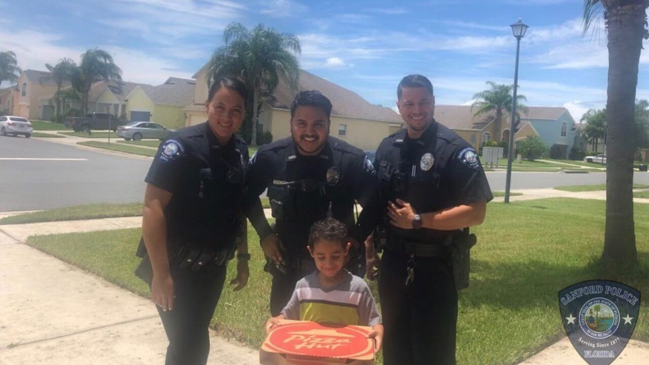 Florida boy dials 911 because he was hungry